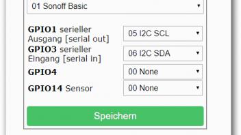 Sonoff Basic und BME280 Sensor - TASMOTA Firmware - CREATIONX