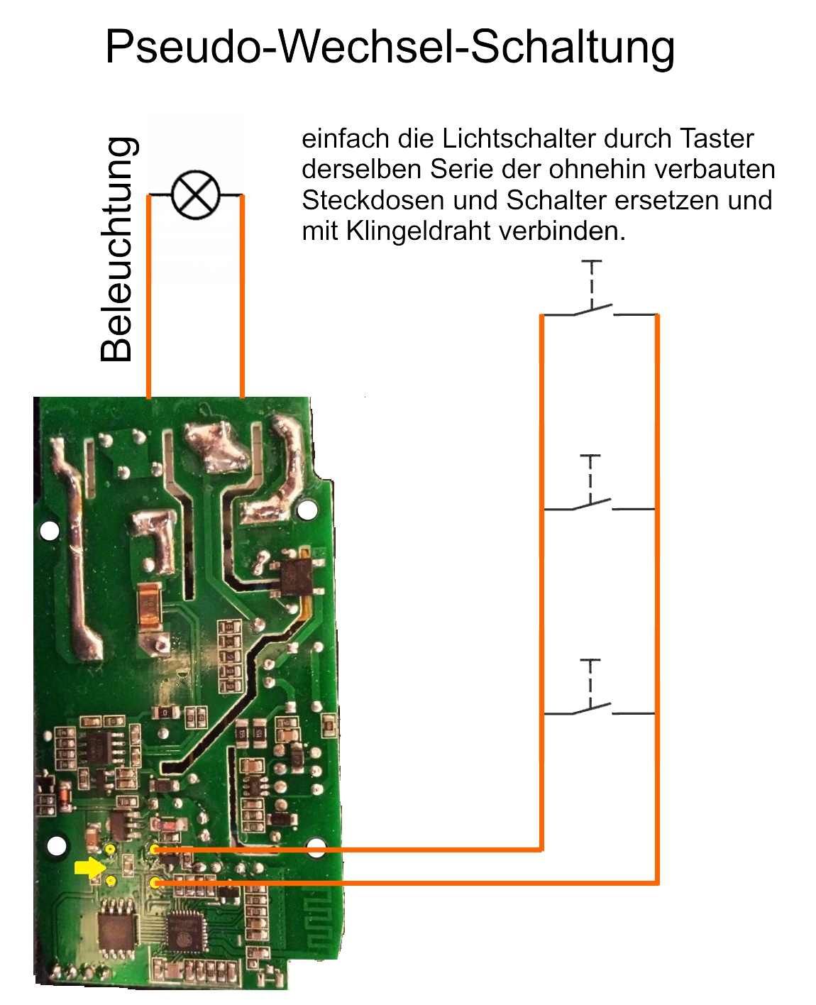 Schön Wie Man Einen Doppelten 2 Wege Lichtschalter Verdrahtet ...