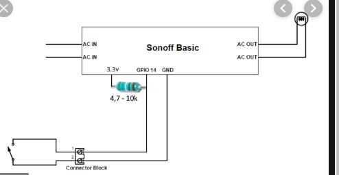 Lampen unterschiedlich schalten - Sonoff Basic & RF